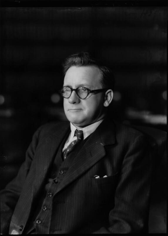 Herbert Stanley Morrison, Baron Morrison of Lambeth, by Bassano Ltd, 28 November 1940 - NPG x19473 - © National Portrait Gallery, London