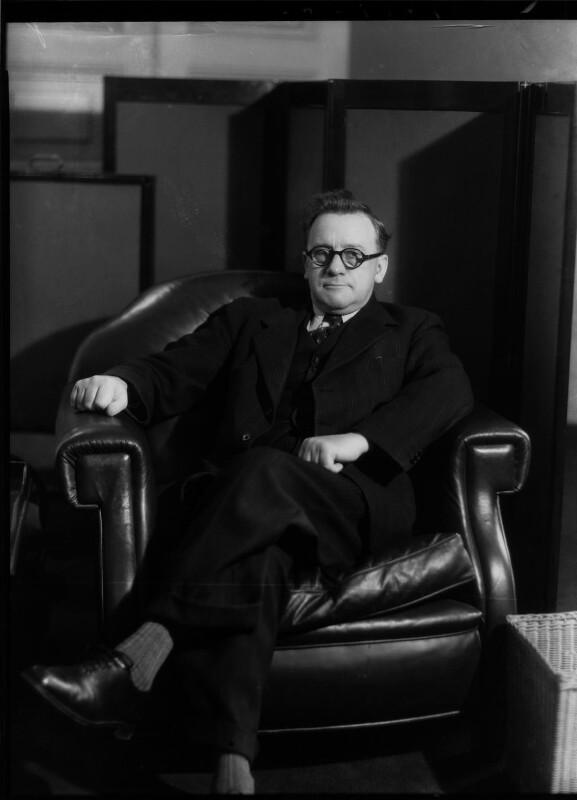 Herbert Stanley Morrison, Baron Morrison of Lambeth, by Bassano Ltd, 28 November 1940 - NPG x19475 - © National Portrait Gallery, London