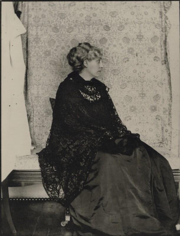 Jane Morris (née Burden), by Sir Emery Walker, May 1898 - NPG x19607 - © National Portrait Gallery, London