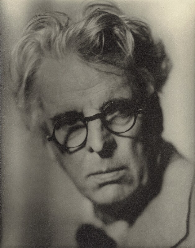 W.B. Yeats, by Howard Coster, 1935 - NPG x1961 - © National Portrait Gallery, London