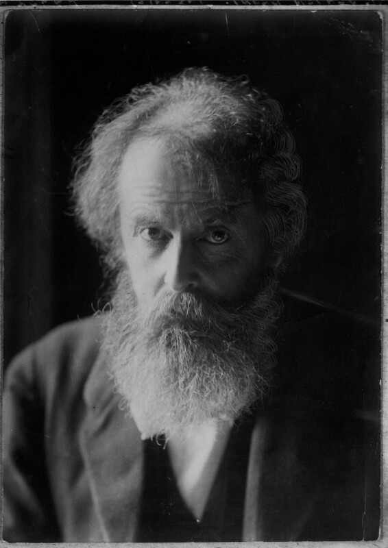 Wilfrid Scawen Blunt, by Elliott & Fry, circa 1910 - NPG x19657 - © National Portrait Gallery, London