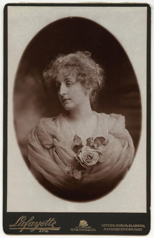 Sarah Helena Latham (née White), by Lafayette, 1870s-1900s - NPG x19892 - © National Portrait Gallery, London