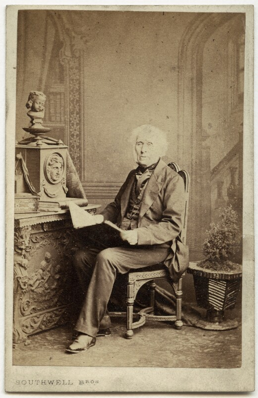 Sir David Brewster, by Southwell Brothers, 1860s - NPG x19949 - © National Portrait Gallery, London
