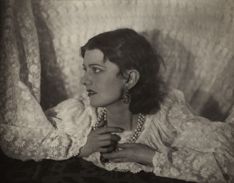 Rosalinde Fuller, by Francis Bruguière, late 1920s - NPG x20443 - © reserved; collection National Portrait Gallery, London