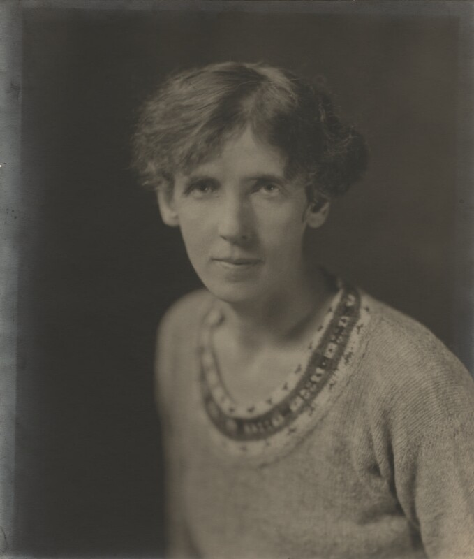 Rose Macaulay, by Howard Instead, early 1920s - NPG Ax20446 - © National Portrait Gallery, London