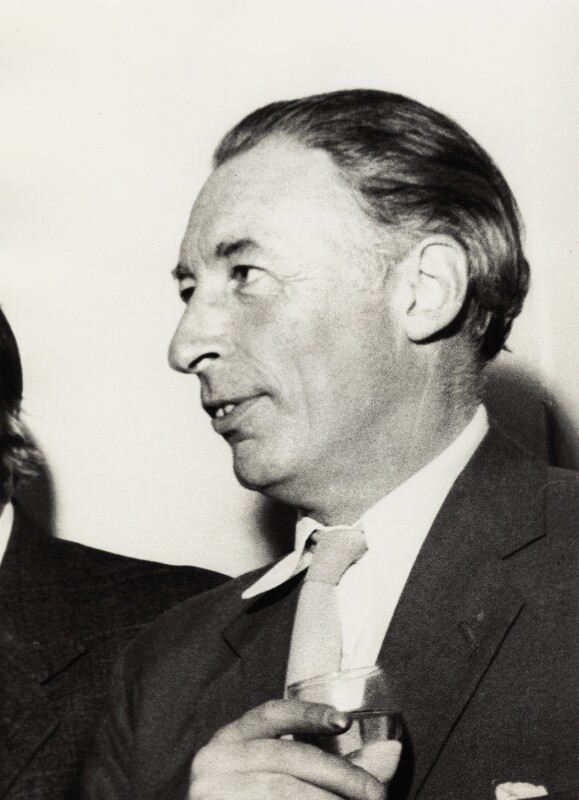 (Frederick) Louis MacNeice, by Mark Gerson, 23 June 1960 - NPG x20461 - © Mark Gerson / National Portrait Gallery, London
