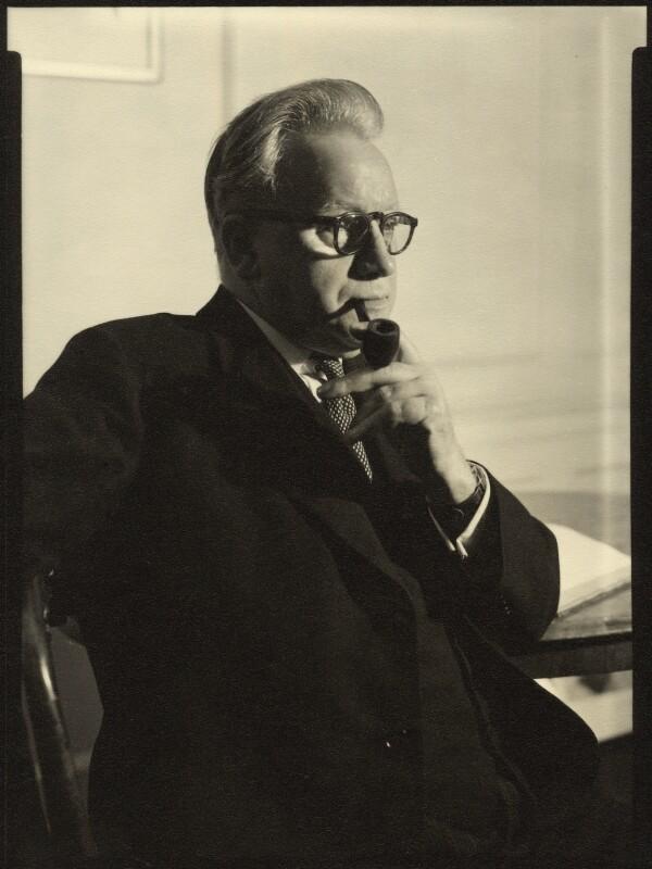 Herbert Stanley Morrison, Baron Morrison of Lambeth, by Howard Coster,  - NPG x2051 - © National Portrait Gallery, London