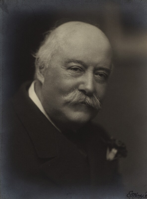 Sir (Charles) Hubert Hastings Parry, 1st Bt, by E.O. Hoppé, 13 November 1915 - NPG x20677 - © 2018 E.O. Hoppé Estate Collection / Curatorial Assistance Inc.