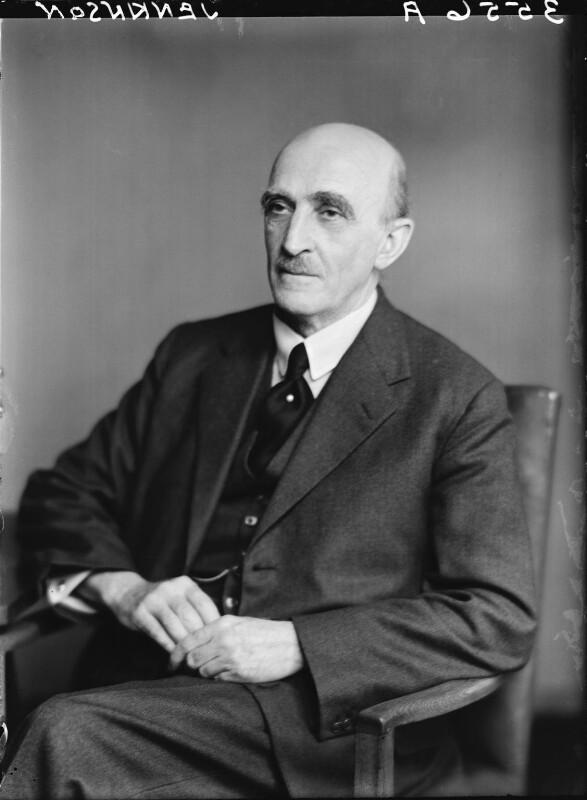 Sir (Charles) Hilary Jenkinson, by Walter Stoneman, 18 July 1949 - NPG x20763 - © National Portrait Gallery, London