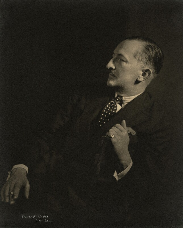(Herman) Cyril McNeile, by Howard Coster, 1930s - NPG x21190 - © National Portrait Gallery, London