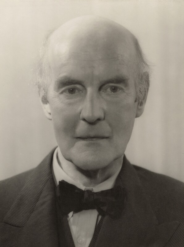 Sir Edward Brantwood Maufe (formerly Muff), by Howard Coster, 1930 - NPG x21263 - © National Portrait Gallery, London