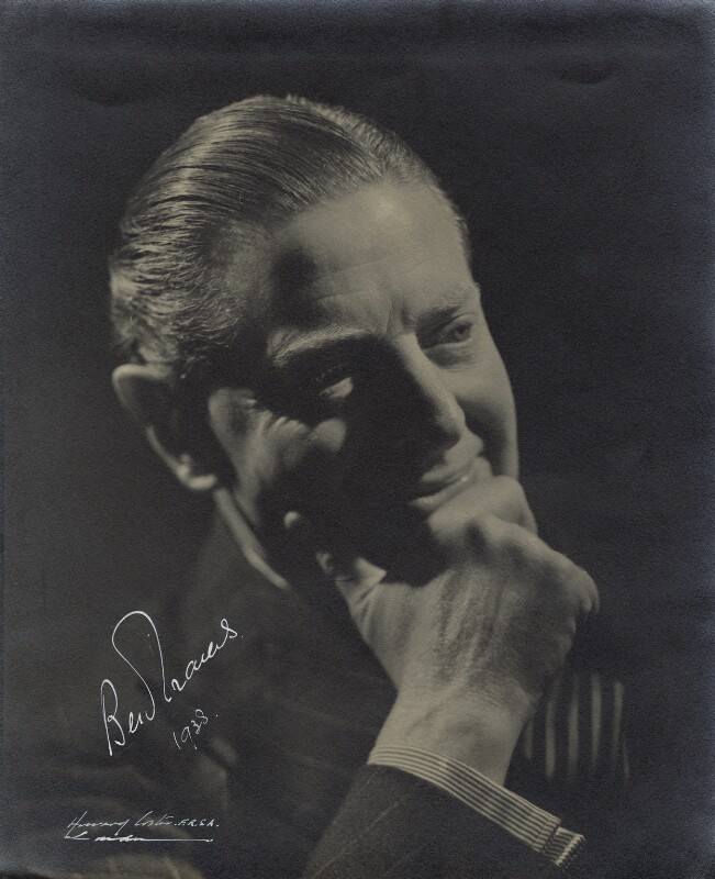 Ben Travers, by Howard Coster, 1936 - NPG x2133 - © National Portrait Gallery, London