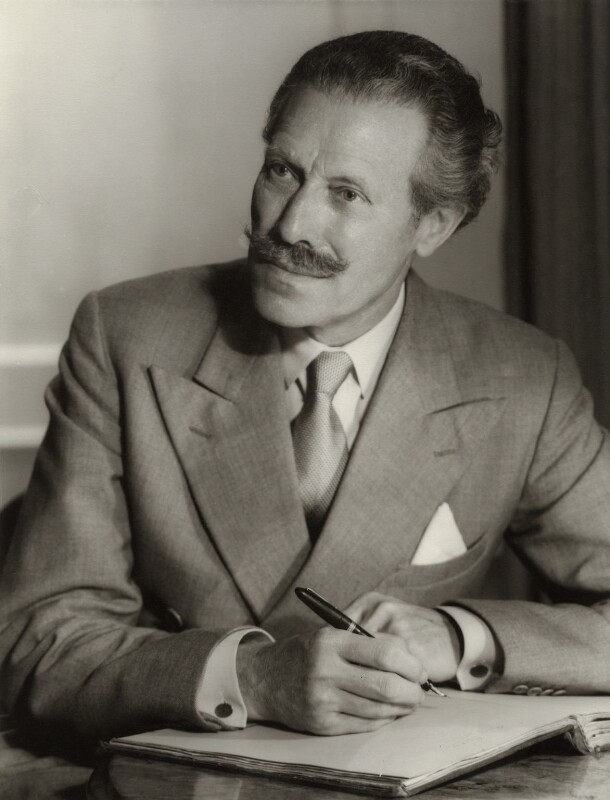 Sir (Robert Eric) Mortimer Wheeler, by Howard Coster, 1956 - NPG x2148 - © National Portrait Gallery, London