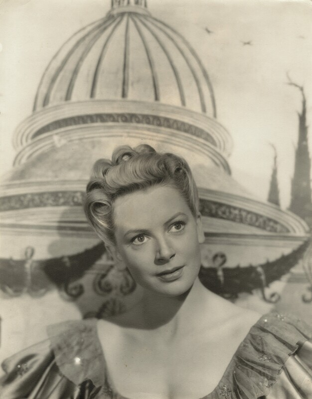 Deborah Kerr, by Davis Claude Boulton, early 1940s - NPG x21557 - © reserved; collection National Portrait Gallery, London