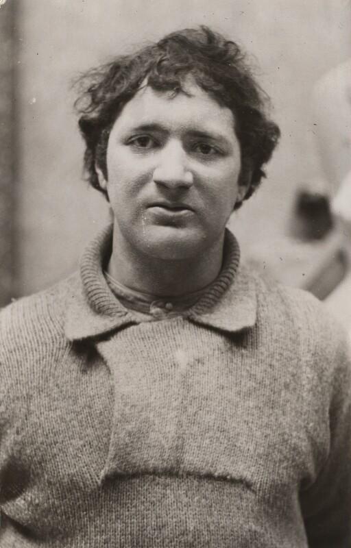 Jacob Epstein, by Barratt's Photo Press Ltd, 1900s - NPG x21741 - © National Portrait Gallery, London