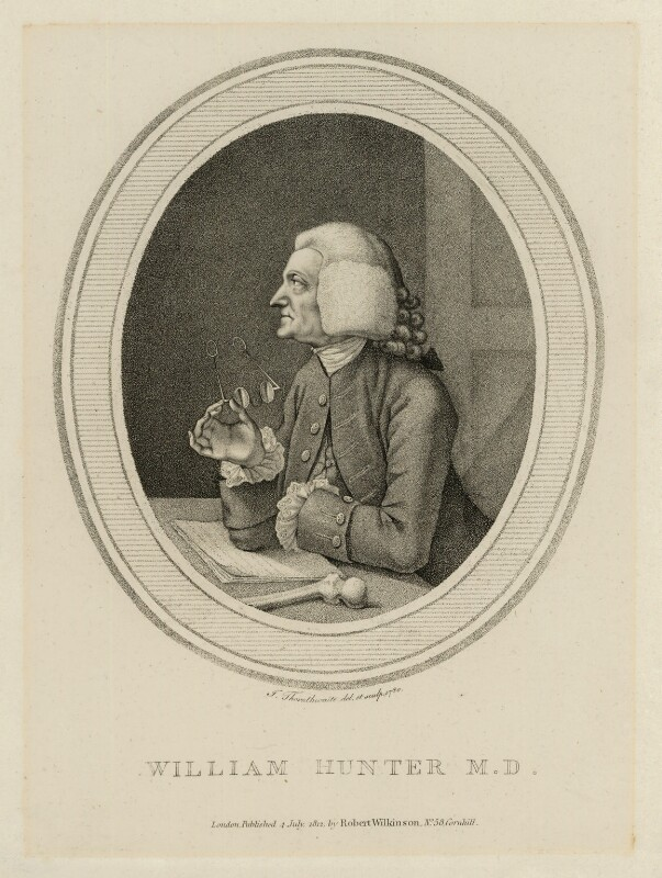 William Hunter, by John Thornthwaite, published by  Robert Wilkinson, published 4 July 1812 (1780) - NPG D10584 - © National Portrait Gallery, London