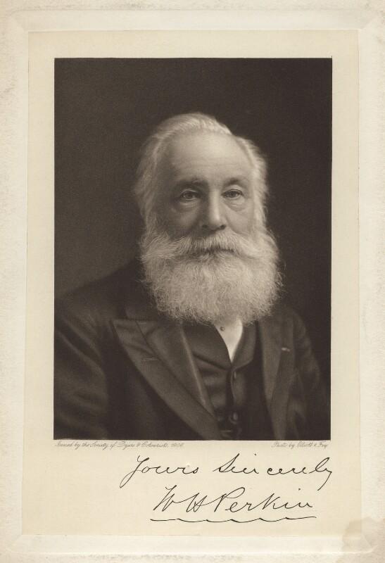 Sir William Henry Perkin, after Elliott & Fry, published 1906 - NPG x21764 - © National Portrait Gallery, London