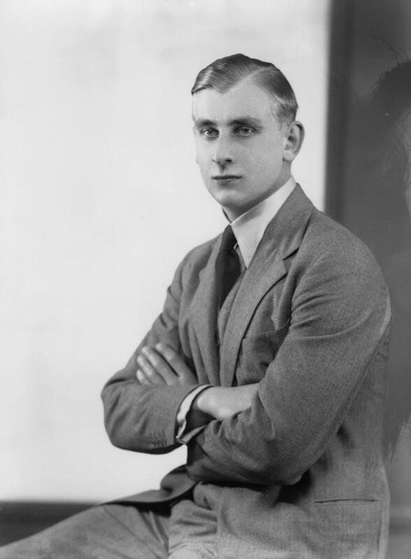 Prince Alexander Obolensky, by Bassano Ltd, 12 December 1935 - NPG x21813 - © National Portrait Gallery, London