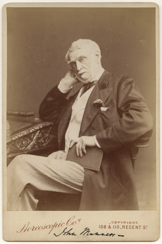 John James Robert Manners, 7th Duke of Rutland, by Ladislas Nievsky (Niewsky), for  London Stereoscopic & Photographic Company, circa 1885 - NPG x22144 - © National Portrait Gallery, London
