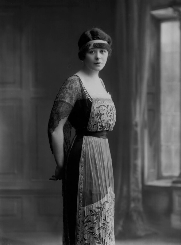 Camille Clifford (Camilla Antoinette Clifford), by Bassano Ltd, 22 May 1916 - NPG x22153 - © National Portrait Gallery, London