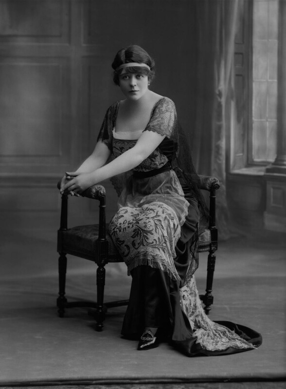 Camille Clifford (Camilla Antoinette Clifford), by Bassano Ltd, 22 May 1916 - NPG x22155 - © National Portrait Gallery, London