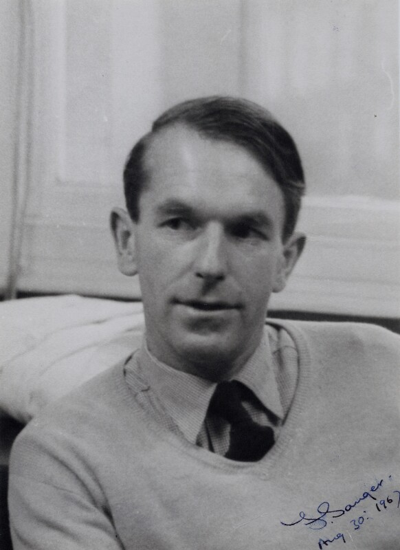 Frederick Sanger, by Daily Express,  - NPG x22353 - © Science & Society Picture Library / National Portrait Gallery, London