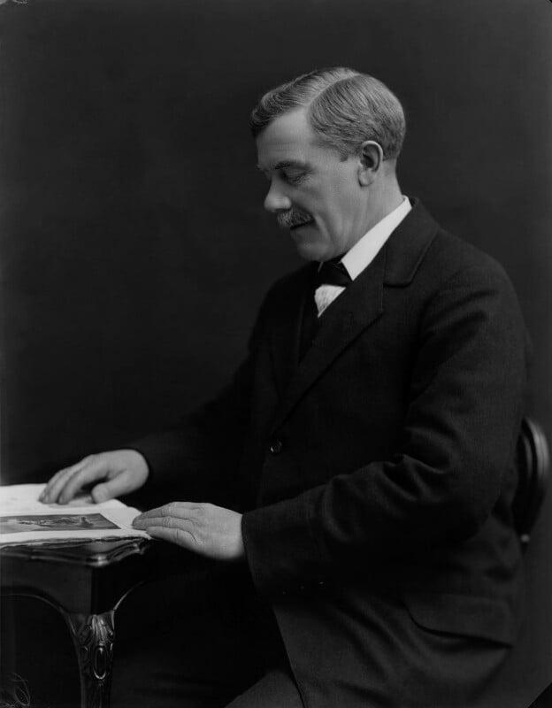 William Adamson, by Bassano Ltd, 14 March 1918 - NPG x22372 - © National Portrait Gallery, London