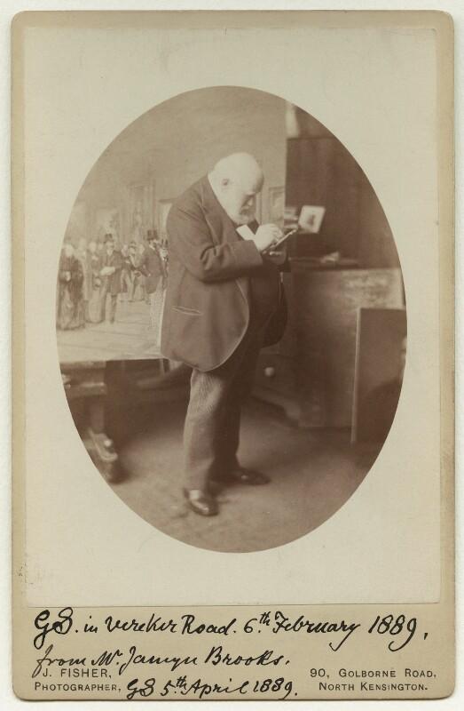 Sir George Scharf, by John James Fisher, 6 February 1889 - NPG x22540 - © National Portrait Gallery, London