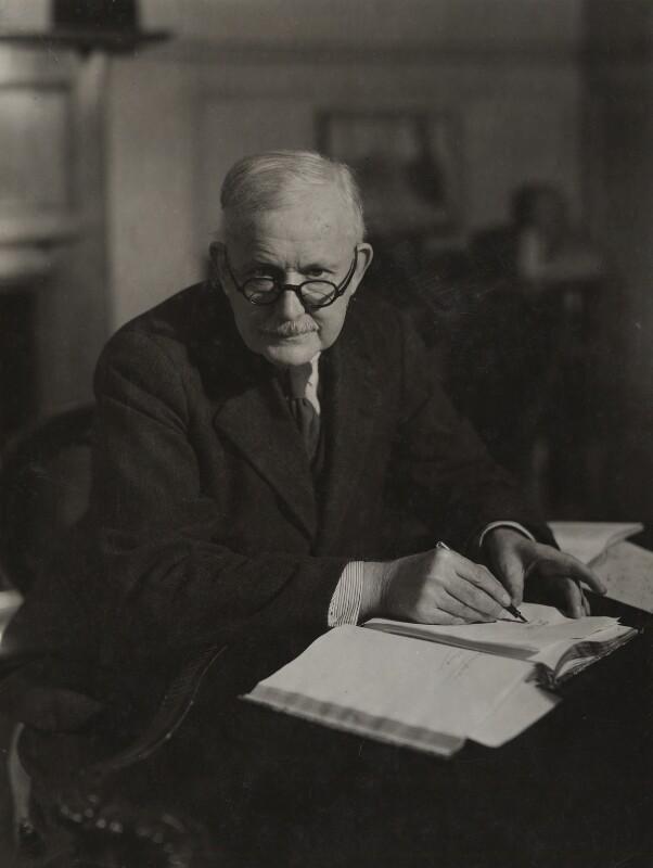 Albert Mansbridge, by Howard Coster, 1945 - NPG x22813 - © National Portrait Gallery, London