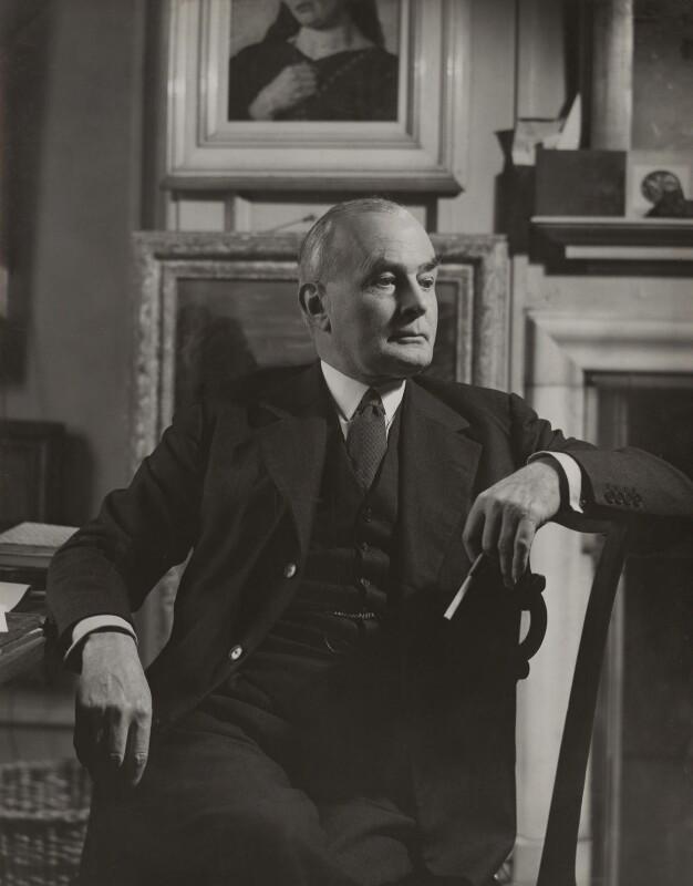 Sir Edward Howard Marsh, by Howard Coster, 1939 - NPG x22820 - © National Portrait Gallery, London