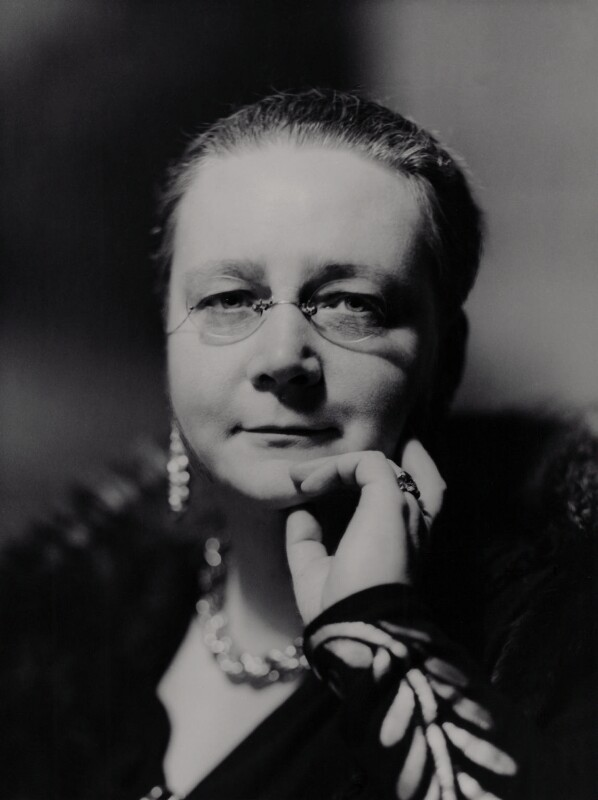 Dorothy Sayers, by Howard Coster, 1938 - NPG x2324 - © National Portrait Gallery, London