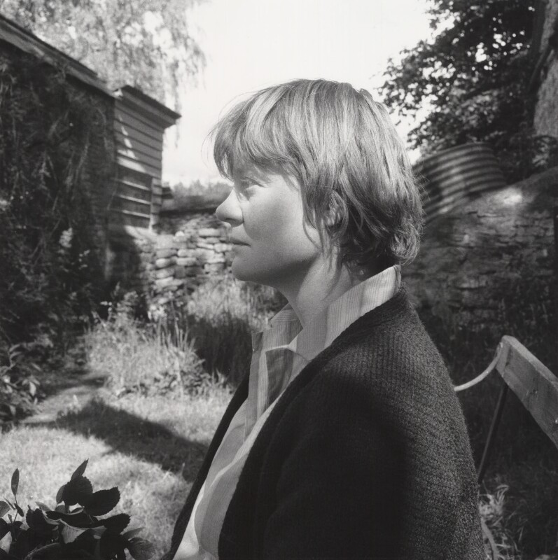 Iris Murdoch, by Janet Stone, 1966 - NPG x23337 - © estate of Janet Stone