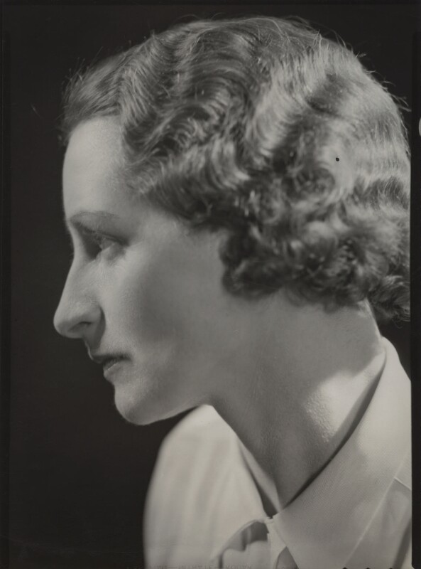 Vera Brittain, by Howard Coster, 1936 - NPG x24032 - © National Portrait Gallery, London