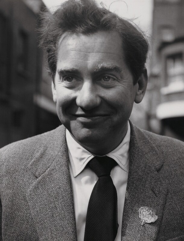 Tony Hancock, by Herbert K. Nolan, 1956 - NPG x24194 - © reserved; collection National Portrait Gallery, London