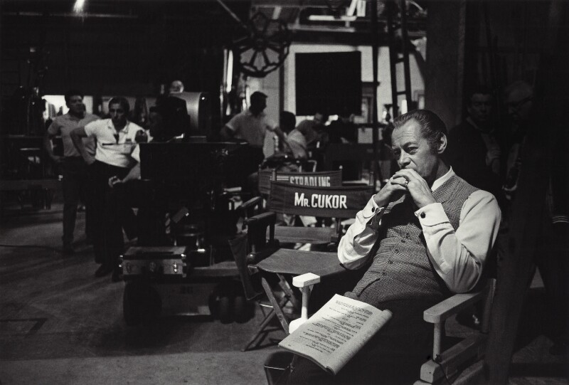 Rex Harrison on the set of 'My Fair Lady, by Bob Willoughby, 1963 - NPG x24934 - © Bob Willoughby 1963