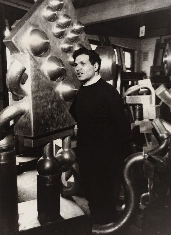 Sir Eduardo Paolozzi, by ABC Television, mid 1970s - NPG x25915 - © reserved; collection National Portrait Gallery, London