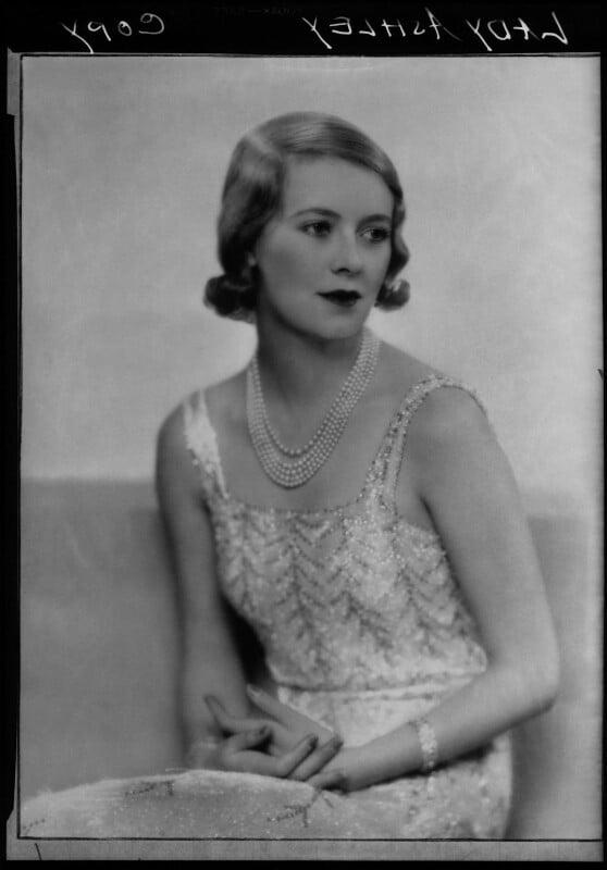 Sylvia (née Hawkes), Lady Ashley, by Dorothy Wilding, 1932 - NPG x25982 - © William Hustler and Georgina Hustler / National Portrait Gallery, London