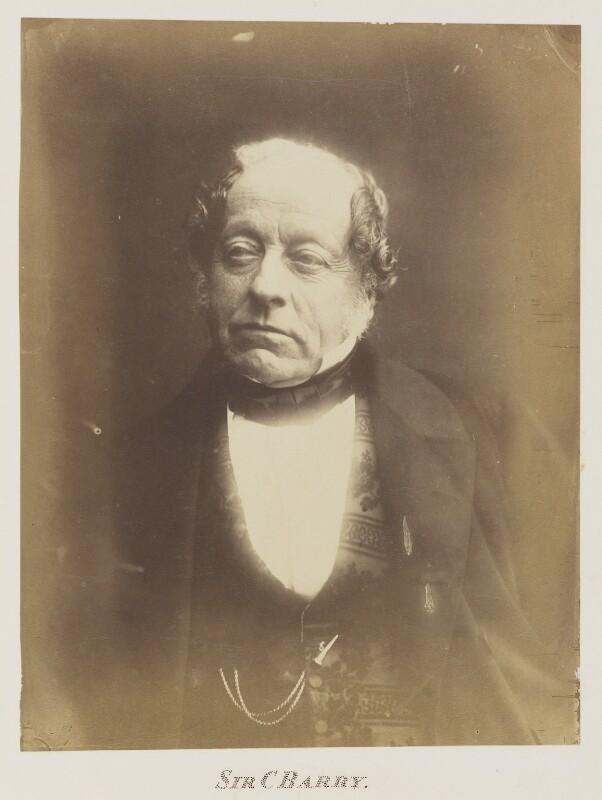 Sir Charles Barry, by (George) Herbert Watkins, 1859-1860 - NPG Ax7339 - © National Portrait Gallery, London