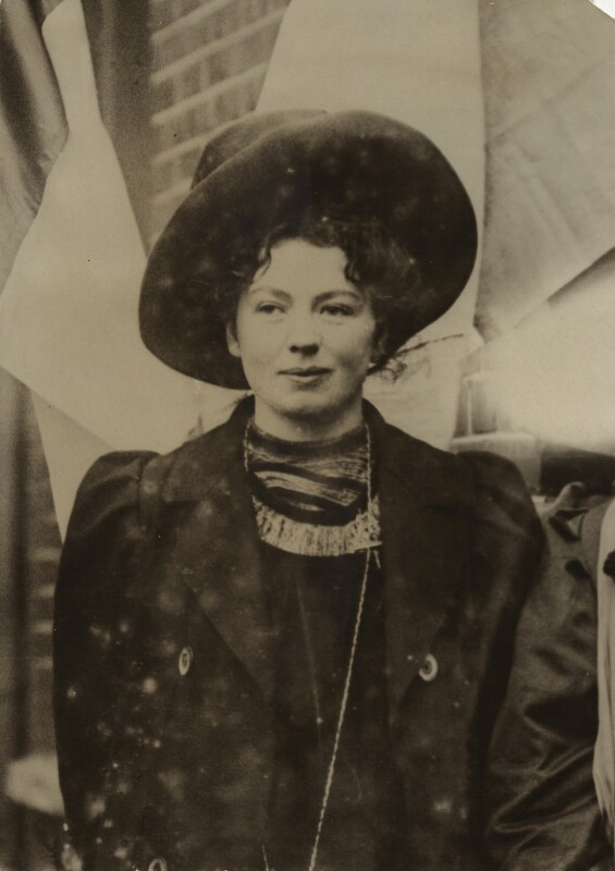 Dame Christabel Pankhurst, by Unknown photographer, mid 1900s - NPG x26018 - © reserved; collection National Portrait Gallery, London