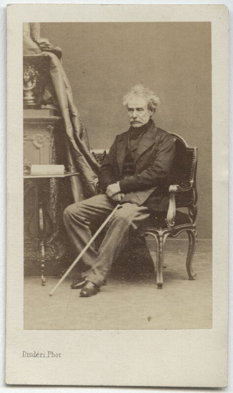 Colin Campbell, 1st Baron Clyde, by Disdéri, early 1860s - NPG x26064 - © National Portrait Gallery, London