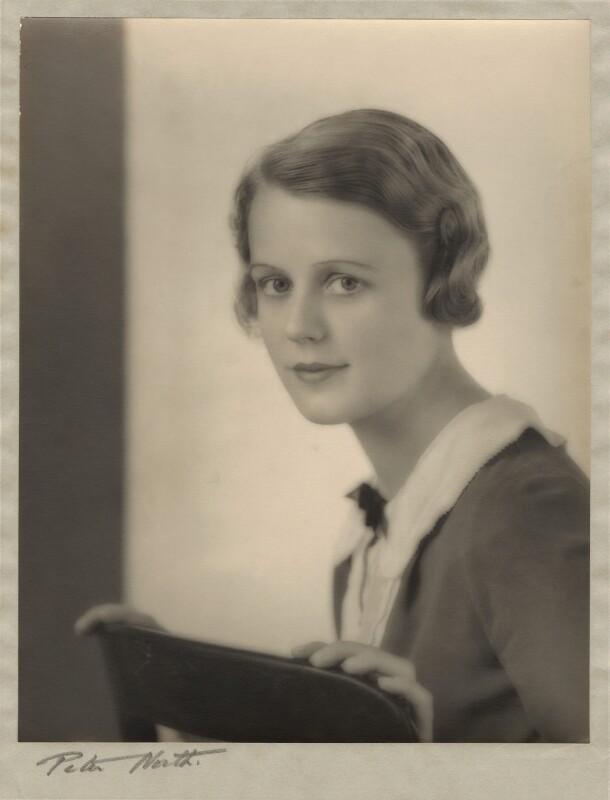 Edna Best, by Peter North, late 1920s - NPG x26074 - © National Portrait Gallery, London