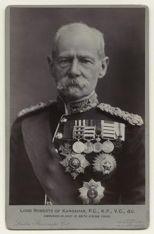 Frederick Sleigh Roberts, 1st Earl Roberts, by London Stereoscopic & Photographic Company,  - NPG x26374 - © National Portrait Gallery, London
