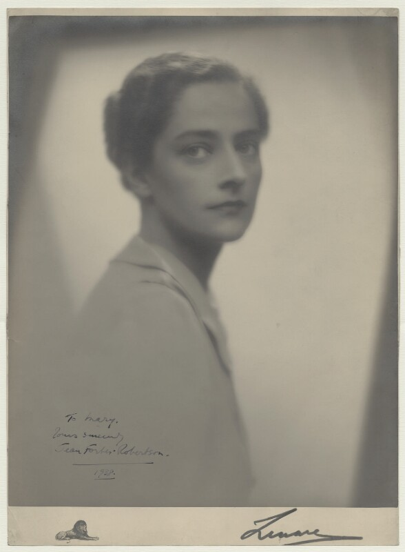 Jean Forbes-Robertson, by Lenare, 1938 - NPG x26418 - © reserved; collection National Portrait Gallery, London