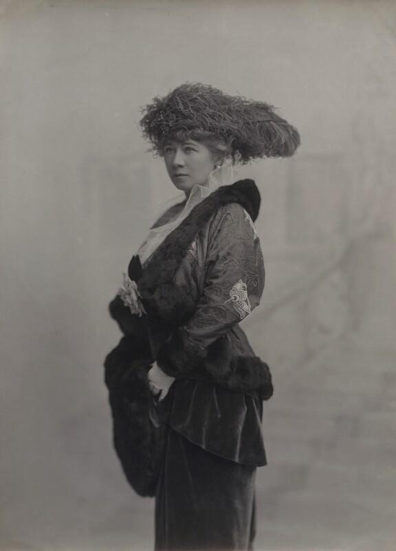 Marie Tempest, by Foulsham & Banfield, 1910s - NPG x26420 - © National Portrait Gallery, London
