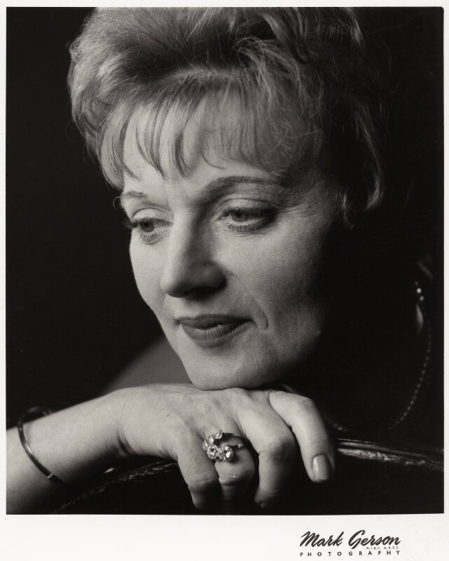 Dame Muriel Spark, by Mark Gerson, May 1963 - NPG x26524 - © Mark Gerson / National Portrait Gallery, London