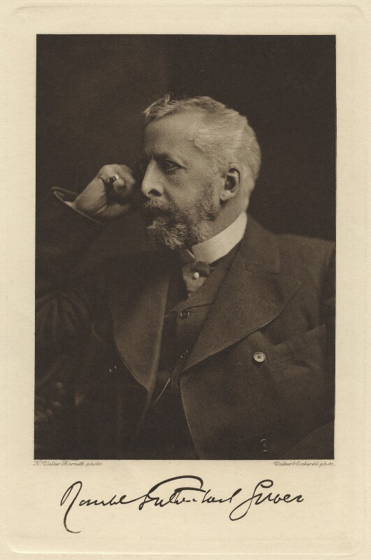Lord Ronald Charles Sutherland-Leveson-Gower, by Walker & Cockerell, after  H. Walter Barnett, circa 1897-1899, published 1903 - NPG x26585 - © National Portrait Gallery, London