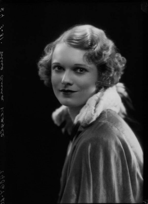 Anna Neagle, by Bassano Ltd, 24 March 1931 - NPG x26599 - © National Portrait Gallery, London