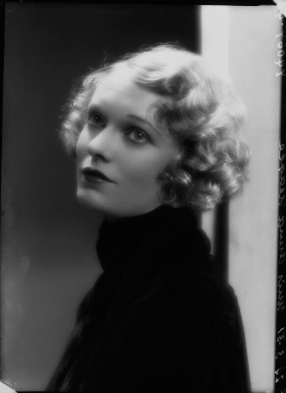 Anna Neagle, by Bassano Ltd, 24 March 1931 - NPG x26600 - © National Portrait Gallery, London