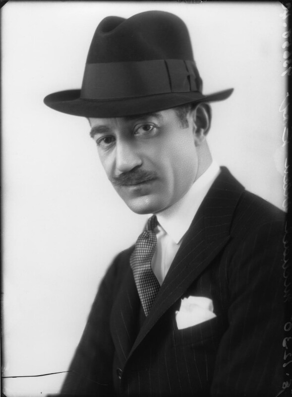 Michael Arlen, by Bassano Ltd, 8 December 1930 - NPG x26610 - © National Portrait Gallery, London