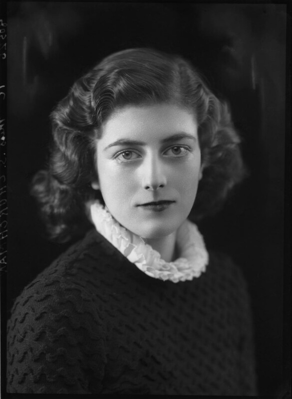 Sarah Churchill, by Bassano Ltd, 27 November 1935 - NPG x26659 - © National Portrait Gallery, London